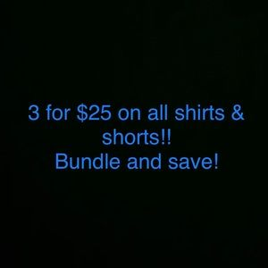 Closet clear out sale! Bundle and save!!